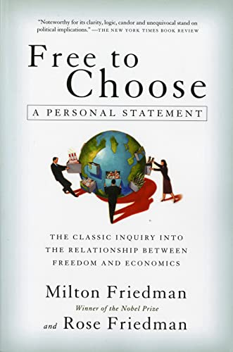 9780156334600: Free to Choose: A Personal Statement