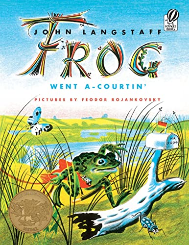 9780156339001: Frog Went A-Courtin' (Voyager/HBJ Book)