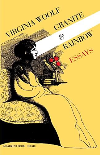 9780156364751: Granite and Rainbow: Essays (Harvest Book ; Hb 318)