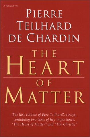 9780156400046: The Heart of Matter