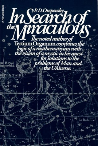 9780156445085: In Search of the Miraculous: Fragments of an Unknown Teaching (Harvest Book)