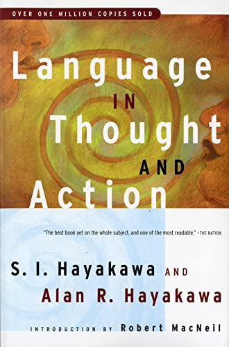 9780156482400: Language in Thought and Action: Fifth Edition