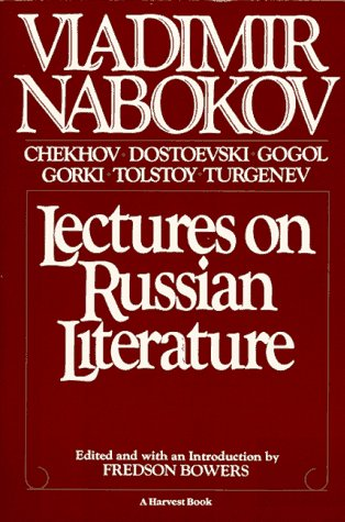 9780156495912: Lectures on Russian Literature