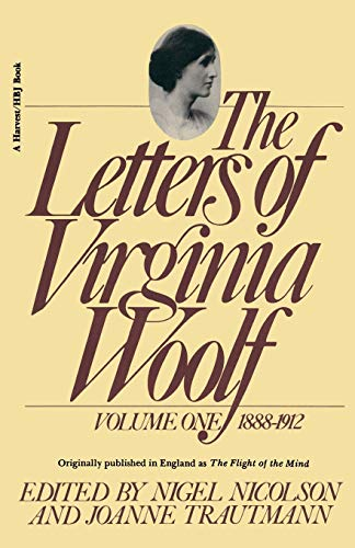 9780156508810: The Letters of Virginia Woolf: Volume 1, 1888-1912