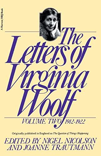 9780156508827: The Letters of Virginia Woolf: Volume 2, 1912-1922