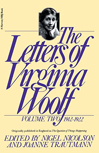 9780156508827: The Letters of Virginia Woolf: Volume 2, 1912-1922