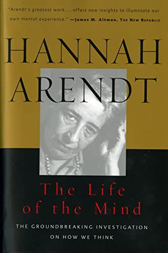 9780156519922: The Life of the Mind (Combined 2 Volumes in 1) (Vols 1&2)