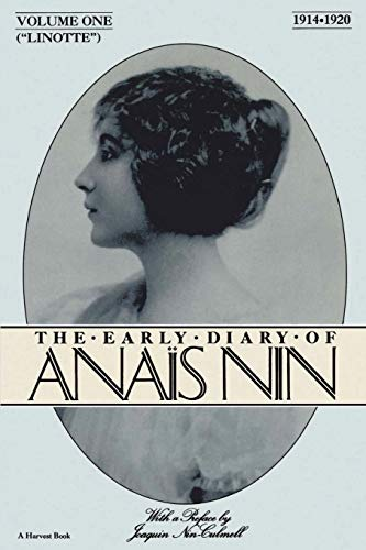 9780156523868: Lionette: The Early Diary of Anais Nin 1914-1920: 1914-1920 Vol 1 (A Harvest/HBJ book)