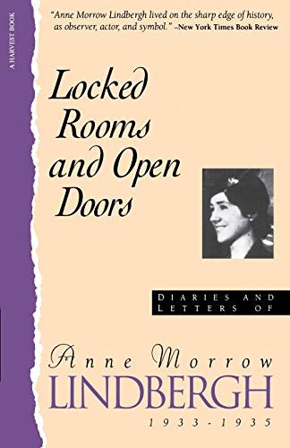9780156529563: Locked Rooms Open Doors:: Diaries And Letters Of Anne Morrow Lindbergh, 1933-1935 (A Harvest Book)