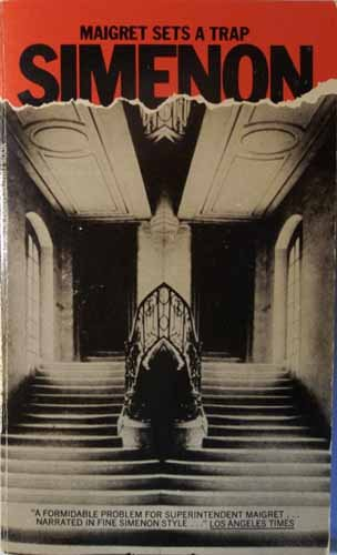 9780156551267: Maigret Sets a Trap (A Harvest/Hbj Book)