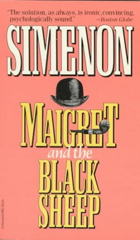 9780156551380: Maigret and the Black Sheep
