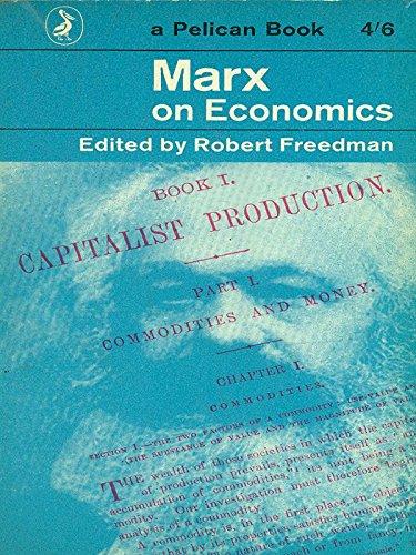 9780156574792: Marx on Economics