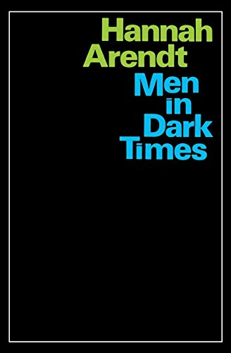 9780156588904: Men in Dark Times