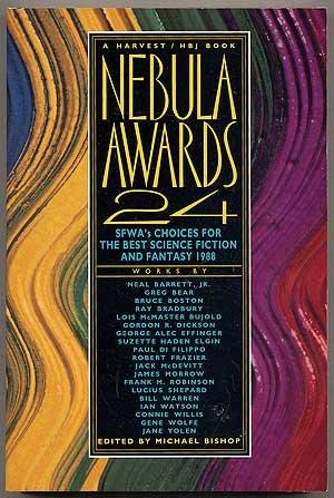 Nebula Awards 24: BISHOP, Michael, edited by (Ray Bradbury)