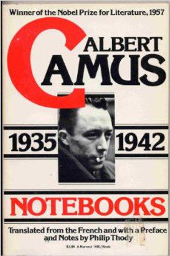 9780156674003: Notebooks, 1935-1942