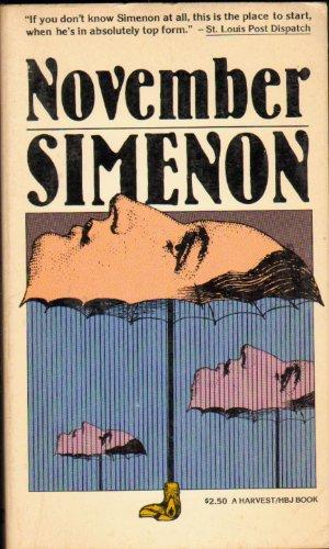 November (A Harvest/HBJ book): Simenon, Georges