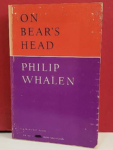 On Bear's Head: Whalen, Philip