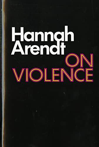 9780156695008: On Violence (Harvest Book)
