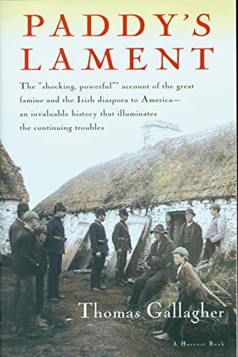 9780156707008: Paddy's Lament: Ireland, 1846-1847: Prelude to Hatred