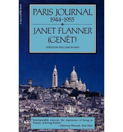 9780156709507: Paris Journal: 1944-1965 (A Harvest Book, HB 360)