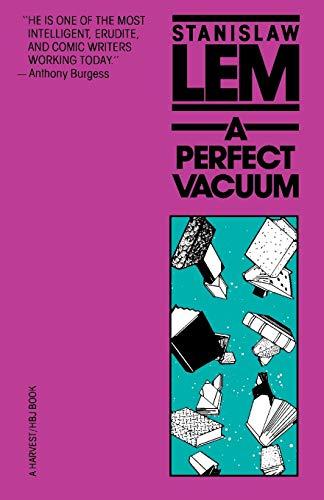 9780156716864: A Perfect Vacuum