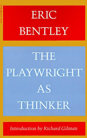 9780156720410: The Playwright as Thinker: A Study of Drama in Modern Times
