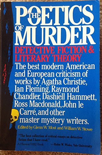 9780156723121: The Poetics of Murder: Detective Fiction and Literary Theory