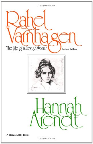 9780156761000: Rahel Varnhagen: The Life of a Jewish Woman-revised edition