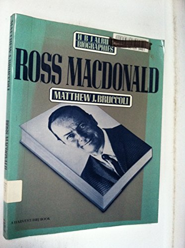 Ross MacDonald (HBJ Book Ser.) (SIGNED): Bruccoli, Matthew J.