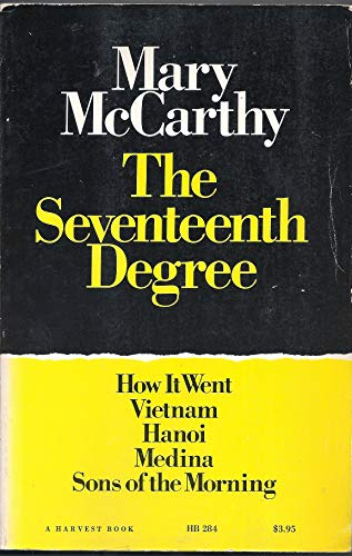 9780156806800: The Seventeenth Degree