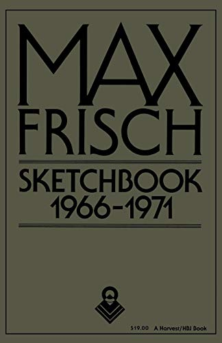 9780156827478: Sketchbook 1966-1971