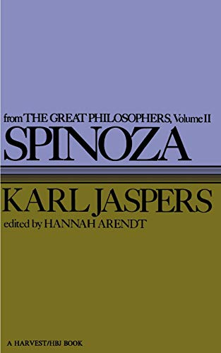 9780156847308: Spinoza: 2 (Great Philosophers)