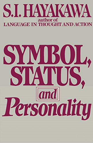 9780156876117: Symbol, Status and Personality