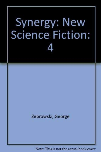 9780156877039: Synergy: New Science Fiction, Vol. 4