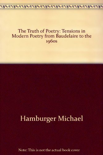 9780156913805: Title: The Truth of Poetry Tensions in Modern Poetry from