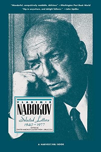 9780156936101: Vladimir Nabokov: Selected Letters 1940-1977