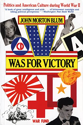 9780156936286: V Was for Victory: Politics and American Culture during World War II (Harvest/HBJ Book)