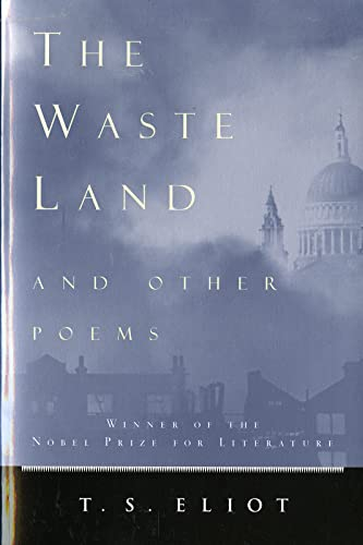9780156948777: The Waste Land and Other Poems