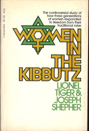 9780156983006: Women in the kibbutz (A Harvest book ; HB345)