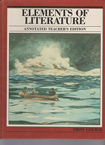 9780157175004: Elements of Literature: First Course