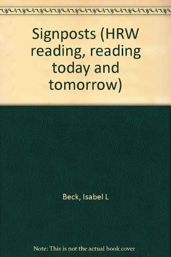 9780157180923: Signposts (HRW reading, reading today and tomorrow)