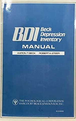 9780158018386: BDI-II, Beck depression inventory: Manual