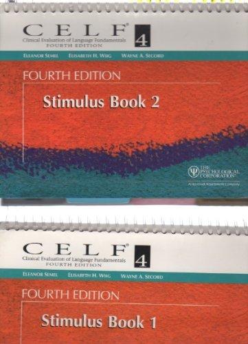 9780158037578: CELF 4 Stimulus Book 2 - Clinical Evaluation of Language Fundamentals - Fourth Edition