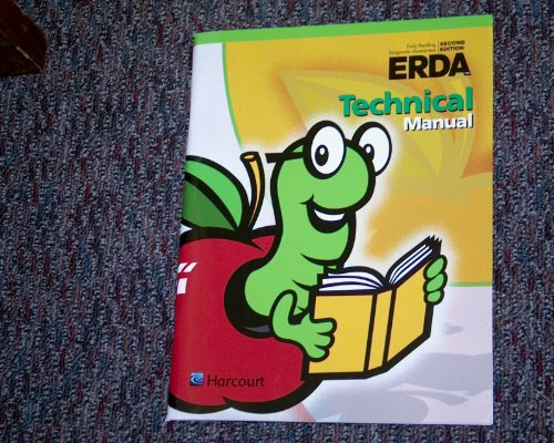 9780158062860: ERDA Early Reading Diagnostic Assessment Second Edition Technical Manual