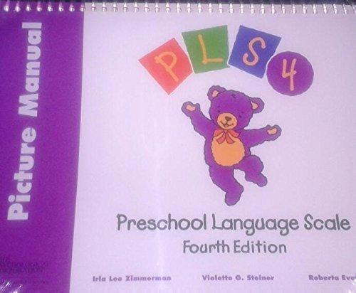 Introducing Preschool Language Scale: Picture Manual, English: Zimmerman, Irla; Steiner, Violette; ...