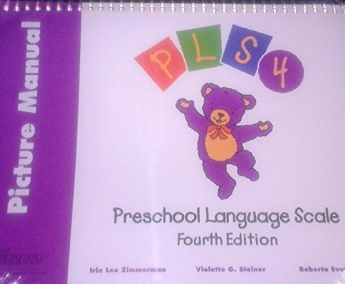 9780158659428: Introducing Preschool Language Scale: Picture Manual, English