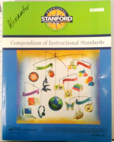 9780158769363: Compendium of Instructional Standards Forms A/D (Stanford Achievement Test Series Tenth Edition)