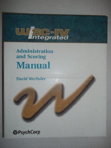 wisc iv administration scoring manual by david wechsler abebooks rh abebooks com wisc-v administration and scoring manual supplement pdf wisc iv administration and scoring manual pdf