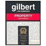 9780159000328: Gilbert Law Summaries: Property