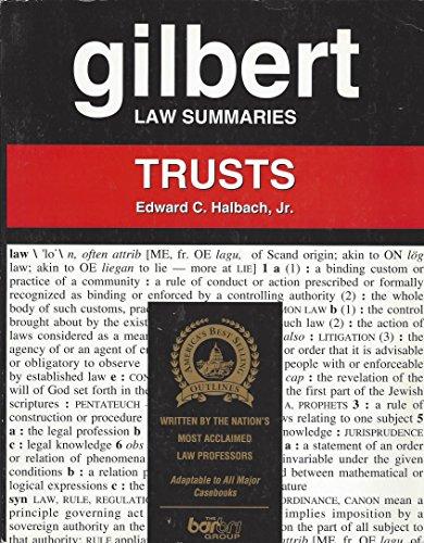 9780159000397: Gilbert Law Summaries: Trusts, 11th Edition